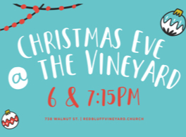 Christmas Eve at the Vineyard!