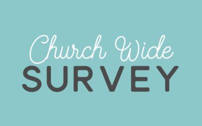 Church-Wide Survey
